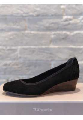 туфли Tamaris 1-22320-20 Black Suede