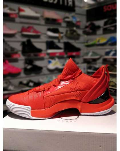 Under Armour Curry 5 red/white